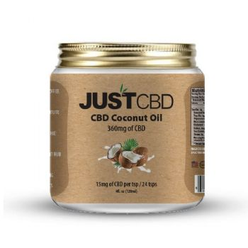 Just CBD Coconut Oil 360mg CBD 120ml